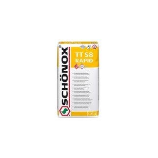 Schönox TT S8 RAPID 25kg rychle tvrdnoucí flexibilní lepidlo